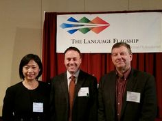 Dean Lee Cohen & Professors Henrietta Yang & Donald Dyer at the 2016 Language Flagship annual meeting at the University of Wisconsin  | University of Mississippi College of Liberal Arts