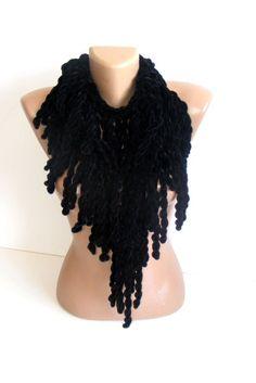 black Velvet scarfneckwarmervery softfashion accessories by seno, $25.00