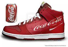 Coke shoes