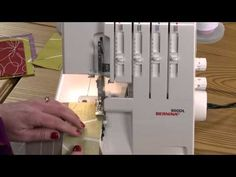 Quilting with a Serger, Part 3 - YouTube