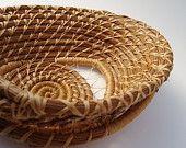 Pine Needle Basket Natural Arches $75 by bazketmakr