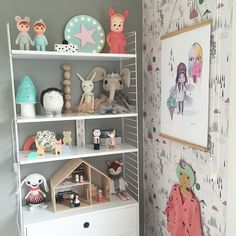 Shelfie time in Millie's room   Tap pic for details by willieandmillie