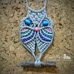 Xmas Crafts, Diy And Crafts, Macrame Owl, Macrame Hanging Planter, Sashiko Embroidery, Macrame Design, Woven Bracelets, Crochet Earrings, Weaving