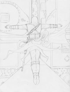 Leap of Faith -sketch by Destinyfall Assassins Creed Art, Dynamic Poses, Leap Of Faith, Assassin's Creed, Art Ideas, Sketch, Deviantart, Drawings, Sketch Drawing