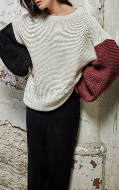 The designer: Veronique Vermussche's newly-launched Belgian cashmere label garnered the attention of 'It' girl Pernille Teisbaek for its conscious ethos and effortless aesthetics. This season it's about: Cashmere reinvented through playful proportions, artful ruffles and innovative textures.
