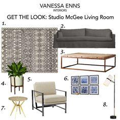 Vanessa Enns Interiors Get the Look Studio McGee Living Room