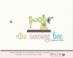 The Sewing Bee Logo Design