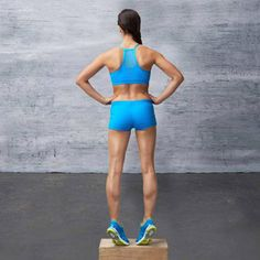 Get Strong, Sexy Legs - Calf Raise Three Ways - Fitnessmagazine.com