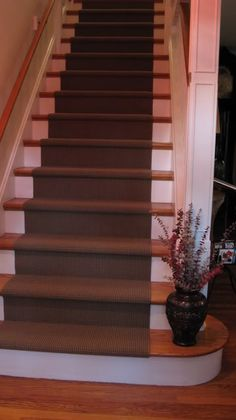 End stair carpet like this