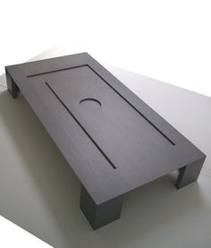 Hole-coffee table- Design by Alessandro Vangone.