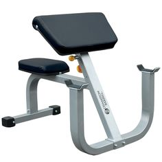 Champion Adjustable Curl Bench Professional Weightlifting Equipment Multi-Use