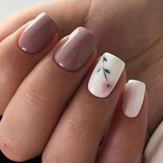 Here is Spring Nail Art Designs Idea for you. Spring Nail Art Designs multi colored x shaped spring nail art design this is a. Flower Nail Designs, Nail Designs Spring, Gel Nail Designs, Nails Design, Short Nail Designs, Salon Design, Nails With Flower Design, Cute Simple Nail Designs, Maroon Nail Designs