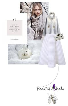 """""""Hello Beautiful!"""" by missiopa ❤ liked on Polyvore featuring MANGO, Fendi, Yves Saint Laurent, Mint Velvet, contestentry, winterstyle, winterwhite and whitish"""