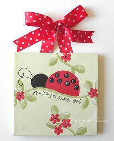Ladybug Nursery Decor Baby Room