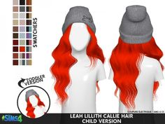 Leah Lillith Callie Hair Child by coupurelectrique