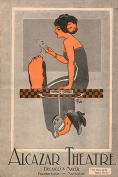 1922 Alcazar Theatre program