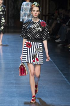 DolceGabbana Spring 2016 RTW - 12 Milan Fashion Weeks, Ready To Wear, Spring  Summer b0e00a707f97