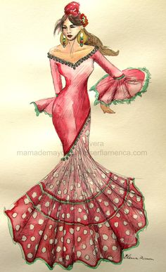 @@@@.....http://www.pinterest.com/peizran/traje-gitana-flamenca/ @@@@....