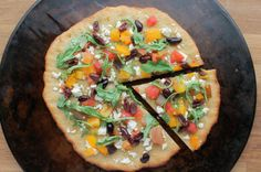 NY style paleo pizza crust. Yes, really. PETE loved it.  Easy to make too.  Doesn't make much more than enough for one person with leftovers.