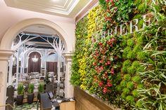 Restaurant LA VERRIERE aux THERMES MARINS DE SAINT-MALO - Architecture intérieure par l'agence LABEL ETUDES
