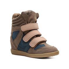 Qupid Patrol-01 Wedge Sneaker