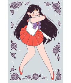 ✨✨ #sailormars #sailormoon #cute #fanart #cartoon #illustration #art #digitalillustration #digitalart