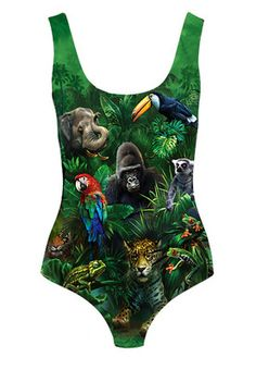 love this body suit.... great with my palm tree leave printed leggings! also great with some serious safari style, kakis, multi pocket jackets, straw hat, etc.