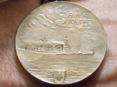 ww1 SMS Molke medal and ribond Scarborough bombardment ?