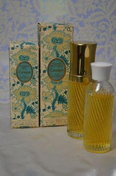Vintage CASAQUE 4.5 Oz JEAN D\'ALBRET Eau de Cologne New in Box 2 Bottles Refillable Spray Very Rare from Picsity.com