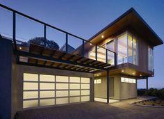 Overhead Door Garage Doors Featured On BobVila.com | Modern Aluminum | Re Do