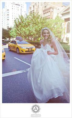 #The Bride - Photography by Tatiana Valerie, Artvesta Studio. www.Artvestastudio.com #New York City Wedding Photographer