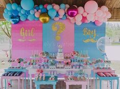 Gender reveal parties are the perfect way to share whether you are expecting a boy or girl with your family and friends. Basketball Gender Reveal, Twin Gender Reveal, Gender Reveal Party Games, Pregnancy Gender Reveal, Gender Reveal Balloons, Gender Reveal Party Decorations, Gender Party, Baby Shower Gender Reveal, Reveal Parties