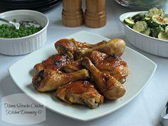 Sweet and Tangy Honey Sriracha Chicken | www/kitchendreaming.com | #YakonSyrup #ad #HermosaPeak