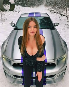 Racing Stripes: picture brought to you by evil milk funny pics. Image related to Racing Stripes Sexy Autos, Ford Company, Mustang Girl, Ford Mustang, Buxom Beauties, Racing Stripes, Us Cars, Car Girls, Sexy Cars