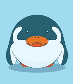 Pengy the Penguin by 3 Roads Media #squishable