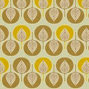 spoonflower.com  Holli_zollinger Tree Hearts yellow