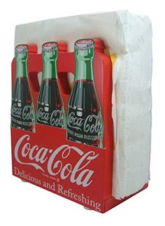 Coca-Cola 6 Pack Napkin Holder Coca-Cola https://www.amazon.com/dp/B008FRCTBI/ref=cm_sw_r_pi_dp_x_gxRJybTZSWS6F