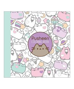 This Pusheen Coloring Book Is Perfect Zulilyfinds