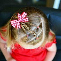 Trendy Braids For Kids Short Little Girls Toddler Hair Ideas - braids - Baby Hair Easy Toddler Hairstyles, Baby Girl Hairstyles, Princess Hairstyles, Hairstyles For School, Braided Hairstyles, Fine Hairstyles, Teenage Hairstyles, Hairstyle Short, Hairstyles 2016