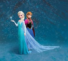 A wedding dressed designed like Elsa's dress from the Frozen movie - the sheer back