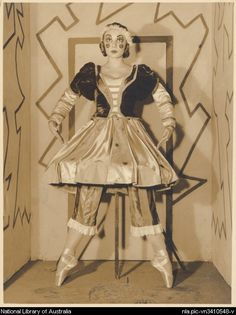 Irina Baronova as the Ballerina in Petrouchka, Ballets Russes between 1930 and 1939