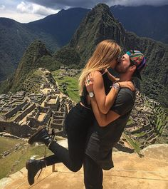 Love around the world @lucavezil ❤️ @revolve #machupicchu #sevenwonders #revolvearoundtheworld #perú