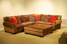 The most comfortable sofa ever! (Robert Michael down filled sectional)   Dont care for the colors but i love the style
