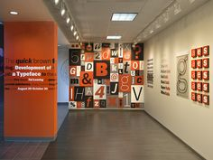 Baltimore typographer  Tal Leming loves letters, especially classic American Gothic style letters. I had the pleasure of working with Tal to create this exhibition which chronicled Balto, his reint...
