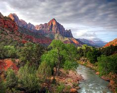 Springdale Utah -  gorgeous small community with fabulous scenes - entryway into Zion National Park.