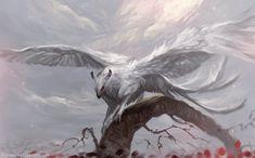 Os animais mágicos nas ilustrações de fantasia de Pauliina Linjama