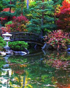 Japanese Garden Elements - Lanterns -   Anderson's Garden, Rockford, IL
