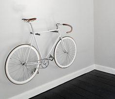 78 Diferentes soportes para guardar la bicicleta en casa