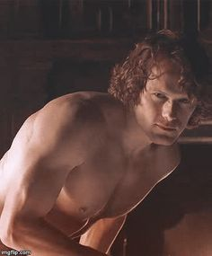 Outlander - Season 3, Claire's memory of Jamie. Sam Heughan is smokin' hot as James Alexander Malcom MacKenzie Fraser - AKA JAMMF!