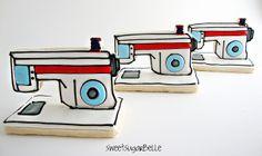 3D Sewing Machine Cookies